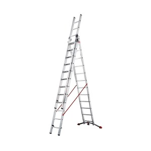 hailo-combination-ladders-with-adjustable-pedal