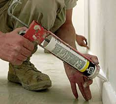 caulking gun filler