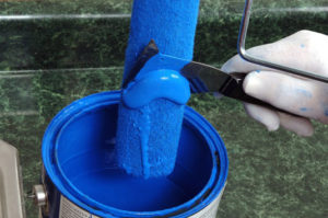 save some paint roller cleaning